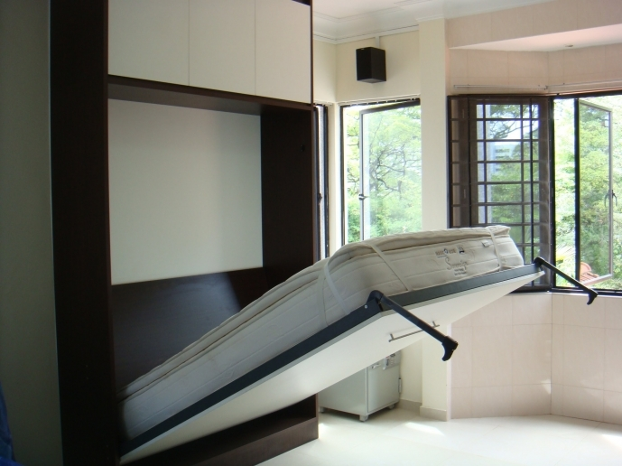Fitted Bedroom Furniture For Small Rooms Regarding Classy Interior Furniture Bedroom Murphy Bed 61