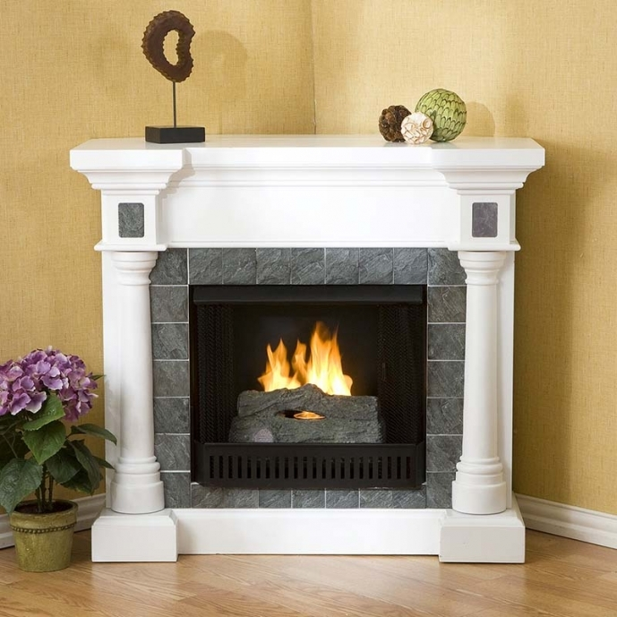 Small Corner Electric Fireplace Tv Stand Best Choice For Small Rooms 04
