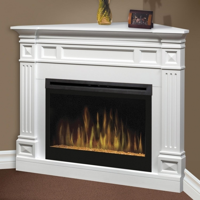 Small Corner Electric Fireplace TV Stand Ideas