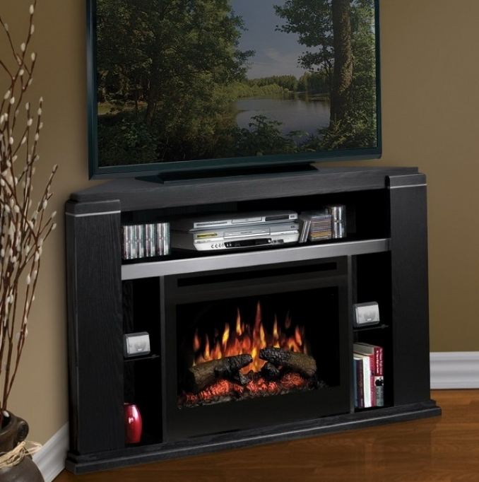 Small Corner Electric Fireplace Tv Stand Home Design Furniture Ideas 42
