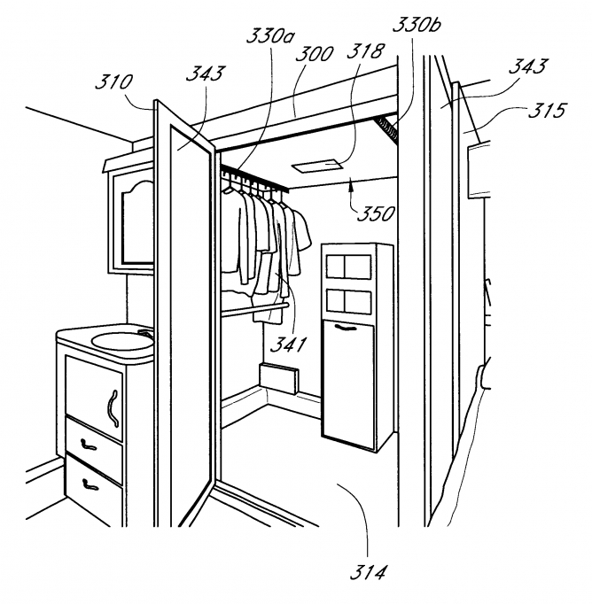 Small walk in closet layout with marvelous standard walk for Master walk in closet dimensions