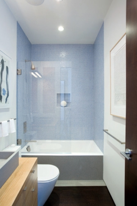 Small Bathroom Designs With Shower And Tub Also Glass Panel  6083