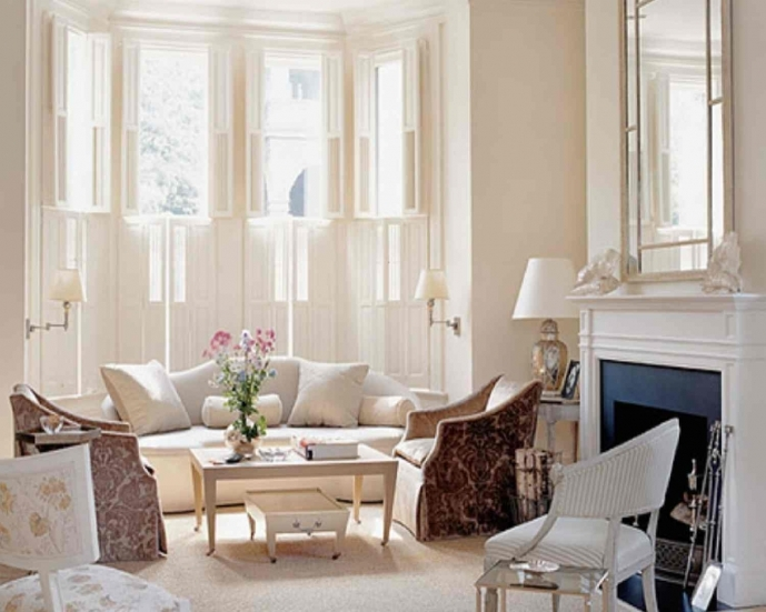 Small Living Room Decorating Ideas Elegant Design With Soft Color Decor 24