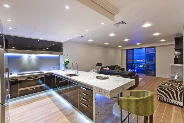 stunning kitchen led lighting ideas interior design style town city apartment room-modern