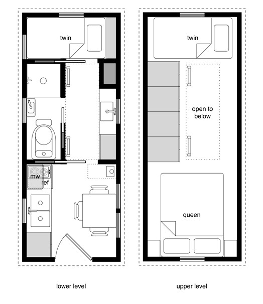 sample small house floor plan