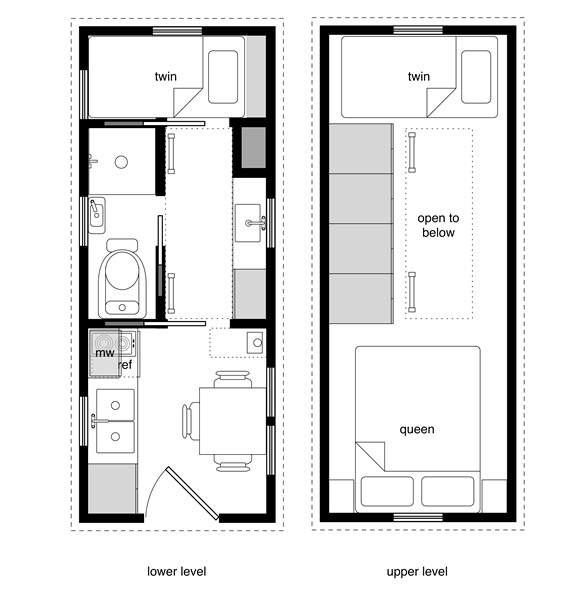 tiny house plan design