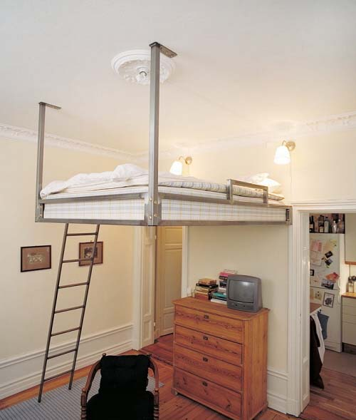 Loft Bed – Optimizing The Space Of Small Rooms