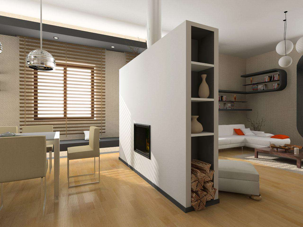 Room Partition to Divide Interior Space