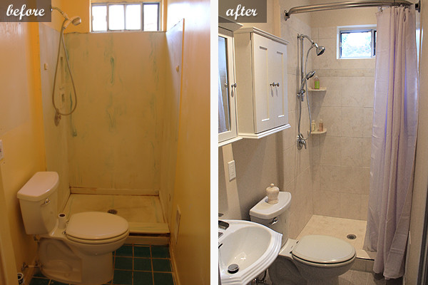remodel small bathroom before and after images 06
