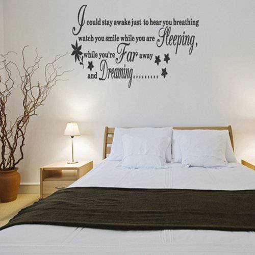 Best Wall Sticker Quotes for Bedrooms - Small Room ...