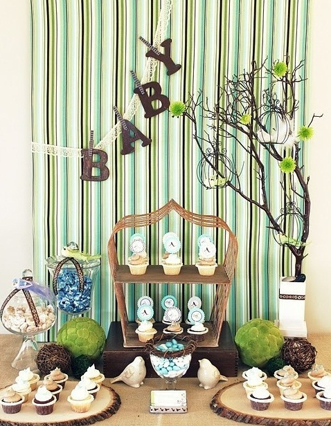Simple Decorations for Baby Shower