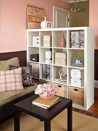 small studio apartment ideas wall divider to separate your ...
