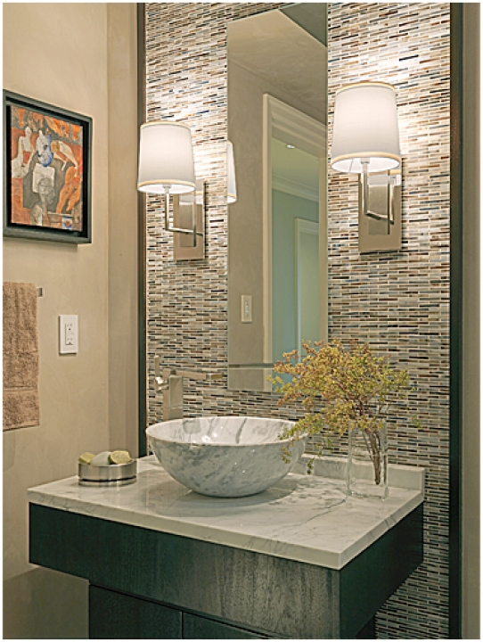 Amazing Small Powder Room Vanities Modern Home Design Ideas