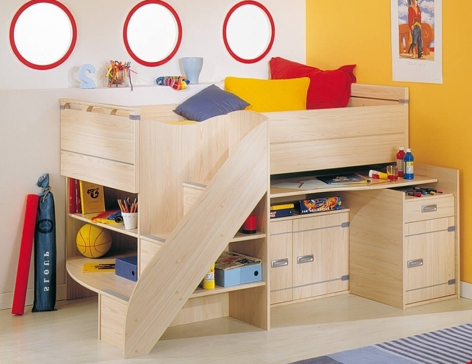 Brilliant Small Cabin Beds For Kids Bedroom Set Design