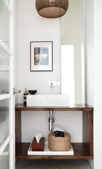 Cosy Small Powder Room Vanities 2 Modern Powder Room Bathroom