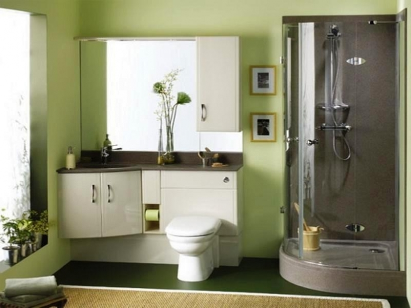 Cozy Small Bathroom Paint Color Ideas With Regard To New Bathroom Paint Ideas Green Pic