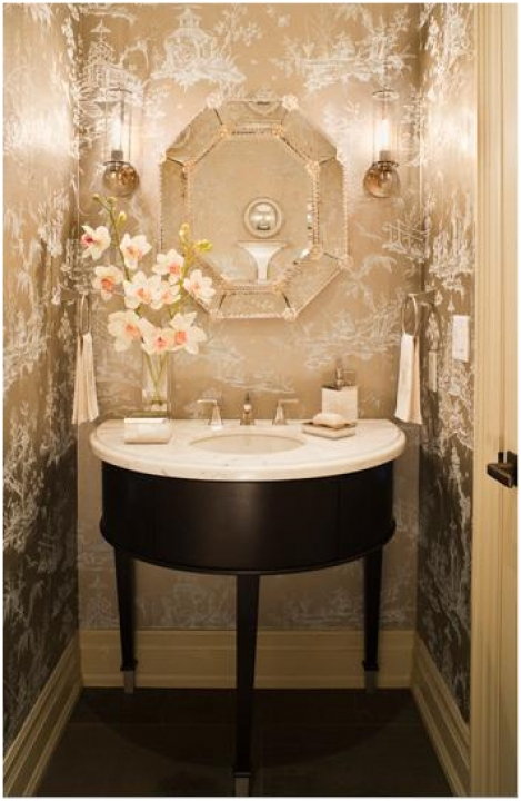 Delightful Small Powder Room Vanities Ideas Design