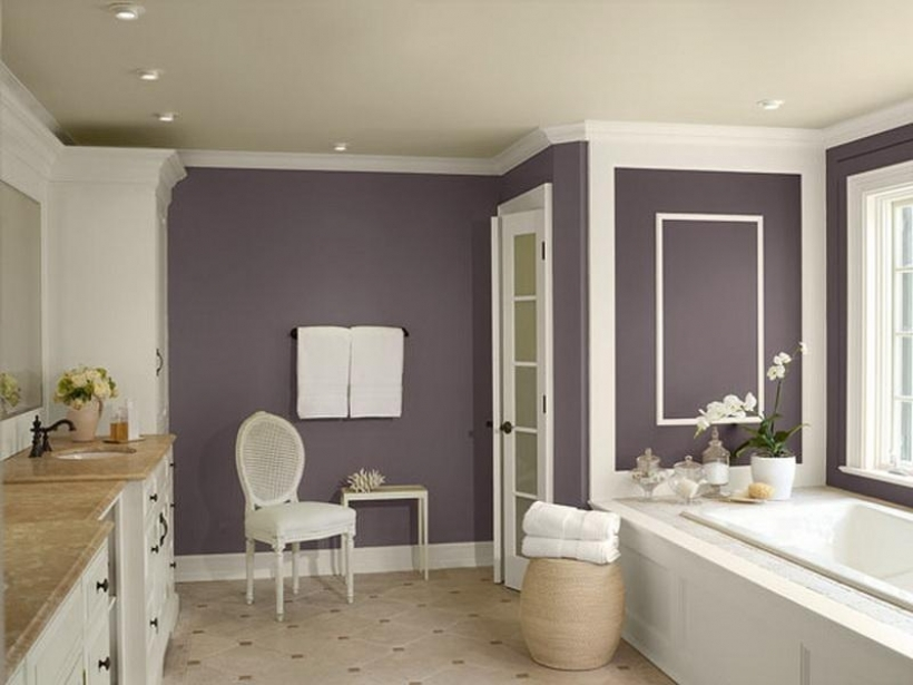 Fantastic Small Bathroom Paint Color Ideas With Regard To Grey And White Bathroom Pictures