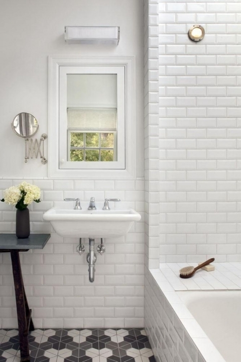 Amazing Small Bathroom Remodeling Subway Tile Ideas On Subway Tile For Bathrooms