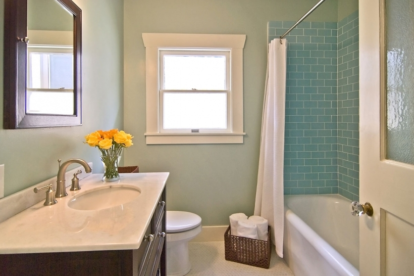 Fantastic Small Bathroom Remodeling Subway Tile White Shower Curtains And Blue Glass Subway Tile Bathroom Idea
