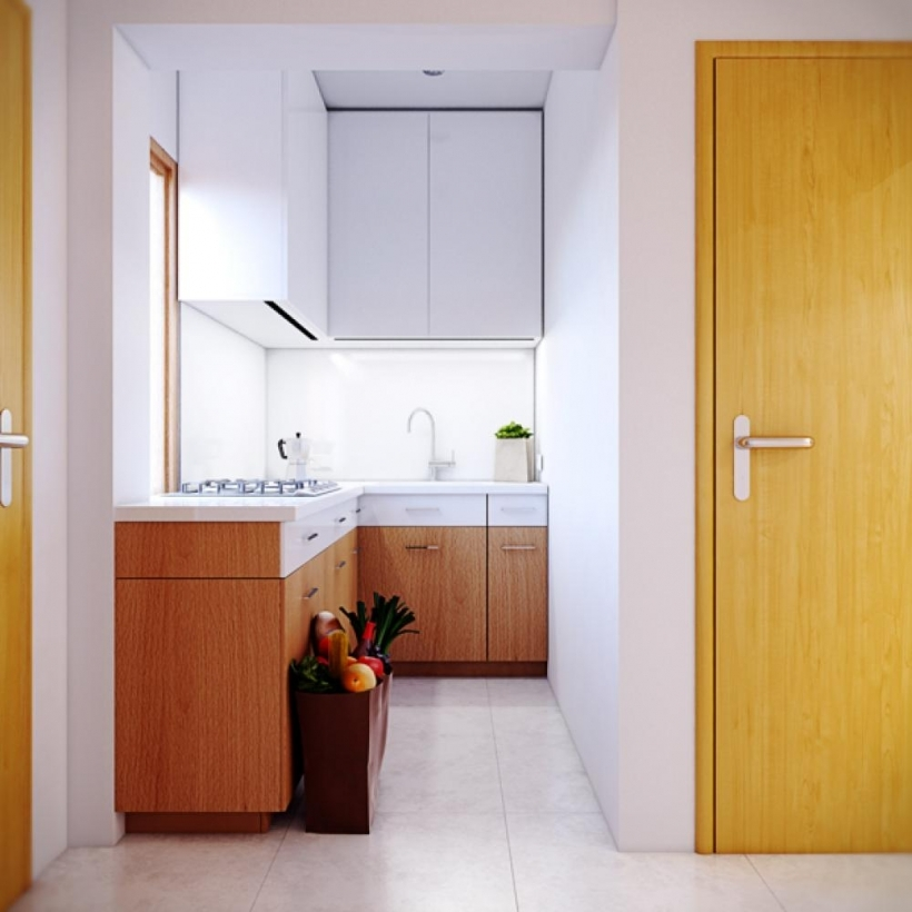 Interior Design Tiny Kitchen Contemporary Urban Kitchen Narrow Space