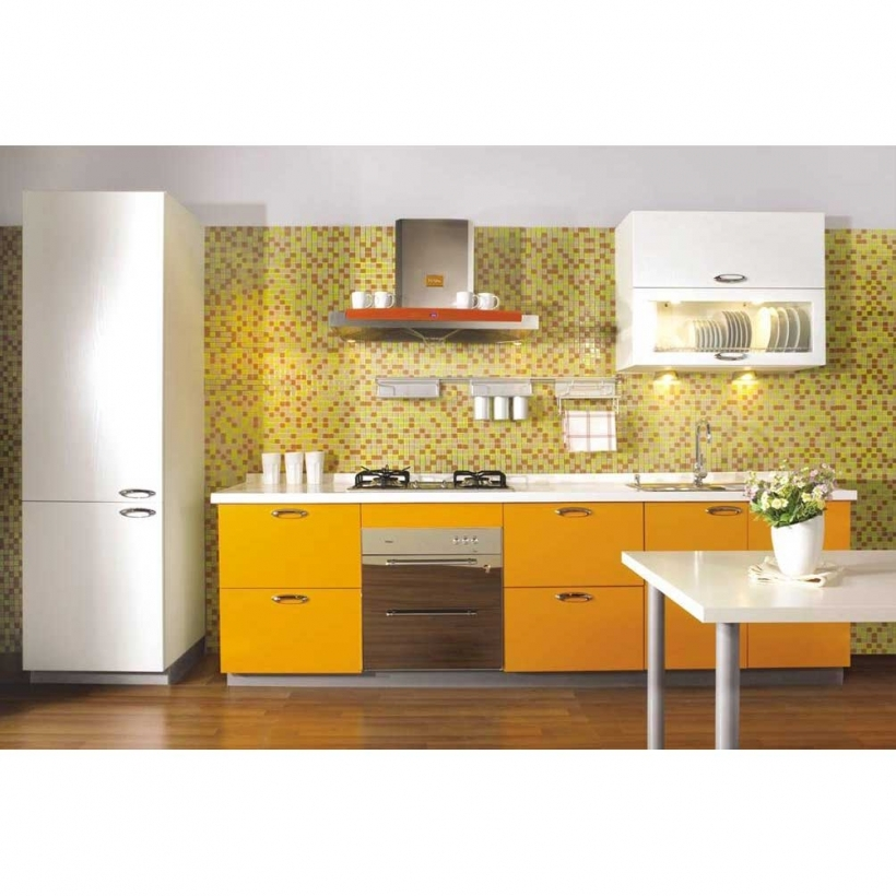 Interior Design Tiny Kitchen Yellow And White Furniture Decor