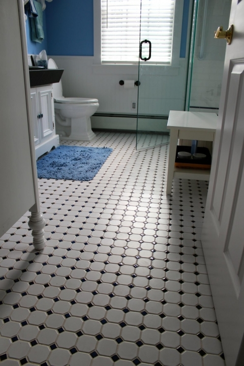 Bathroom Flooring Ideas For Small Bathrooms With Delightful White Bathroom Floor Tile
