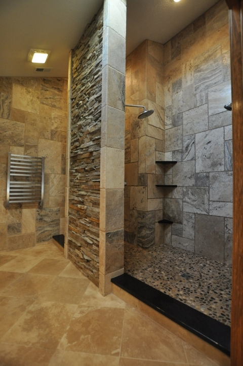 Bathroom Wall Tile Ideas With Shelving For Small Bathrooms Shower