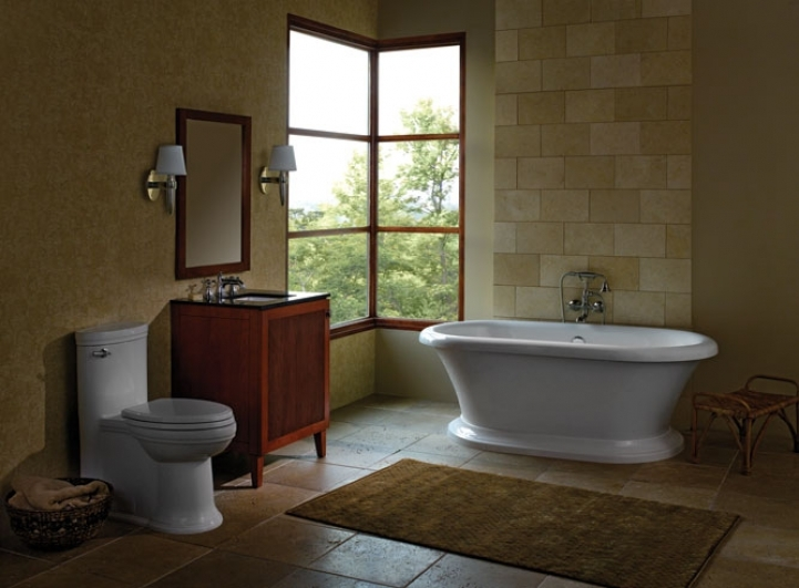 Freestanding Bathtubs Small Spaces Fantastic American Standard Press Porcher Freestanding Tubs Combine 4005