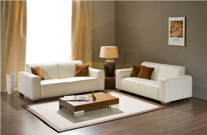 Paint Color Ideas For Small Living Room Within Great Gray Wall And White Sofa Ideas 9579