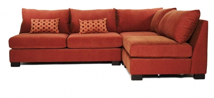 Red Sectional Sofa Bed For Small Spaces With Stunning Small Sleeper Sofa Terracota Armless Design Ideas  4588