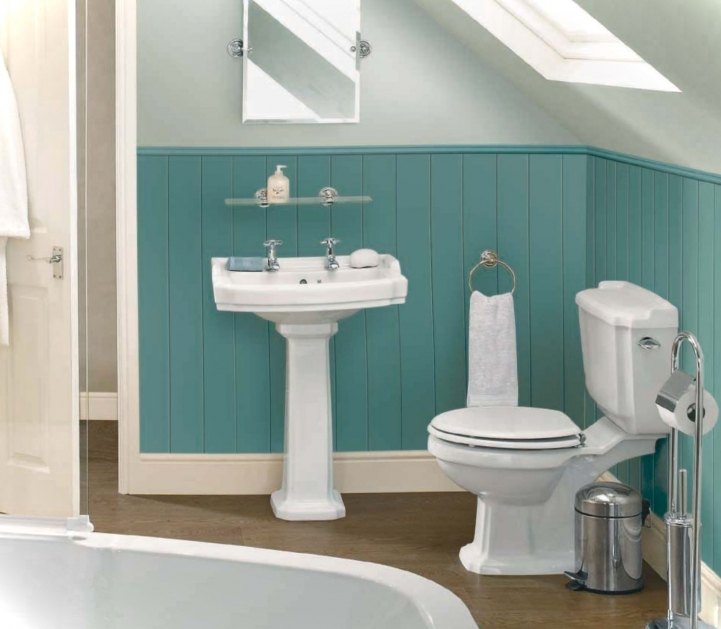 Small Bathroom Paint Colors Inside Charming Blue And White Bathroom Colors 6962