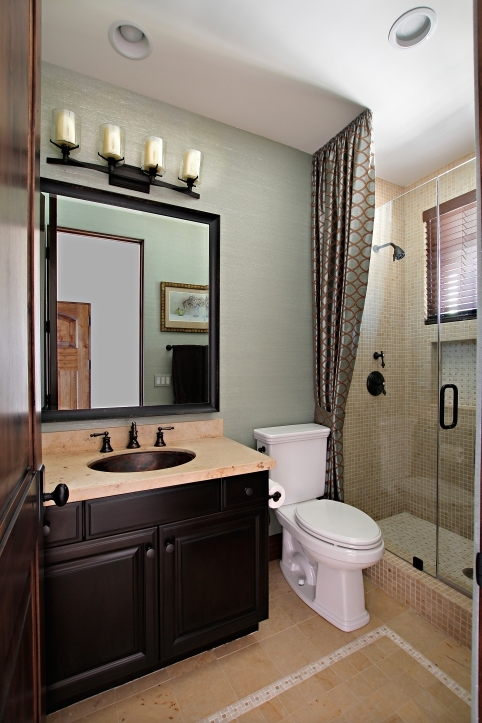 Small Guest Room Decor With Lovely Guest Bathroom Design Inspiration 8565