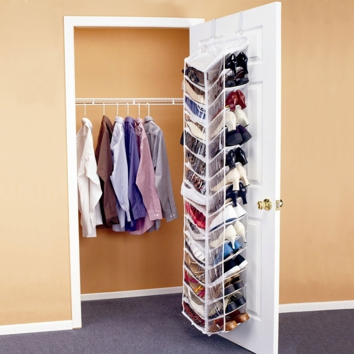 Small Closet Ideas Smart Shoe Organizer With Hanging Shoe Rack Pic