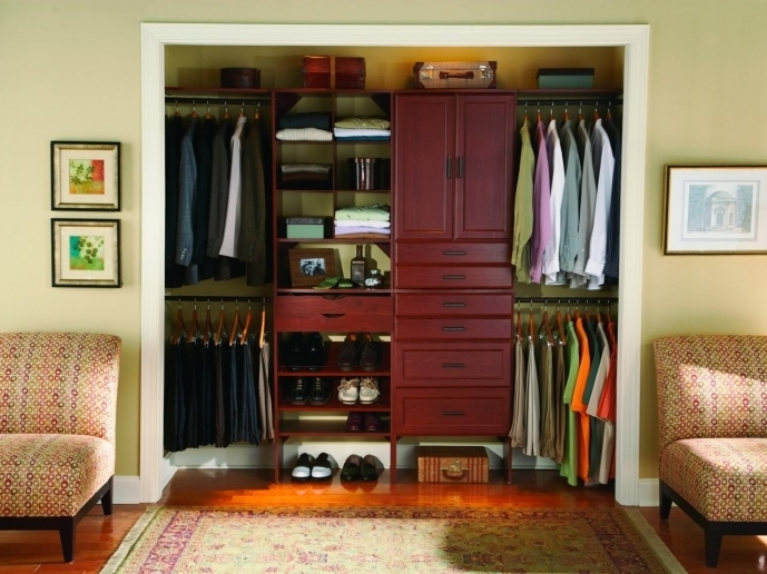 Small Closet Organization Ideas RX Press Kits Closet Maid Men Dressing Photo
