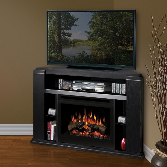 Small Corner Electric Fireplace Tv Stand Wooden Tv Cabinet For Living Space Ideas  72