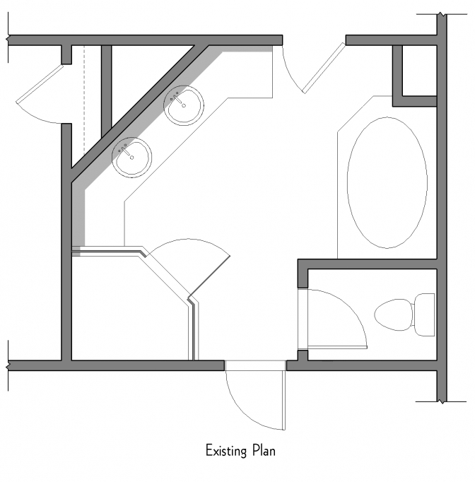 Small Bathroom Floor Plans 10x10 Design Idea 28