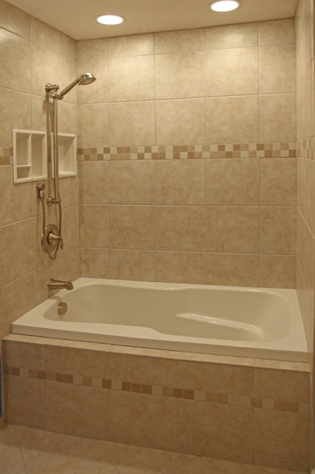 Small Bathroom With Bath And Shower Ceramic Tile Bathroom Shower Design Ideas 7579