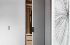Bedroom Closet Wrapped In Fabric regarding Bedroom Cupboard Sliding Doors