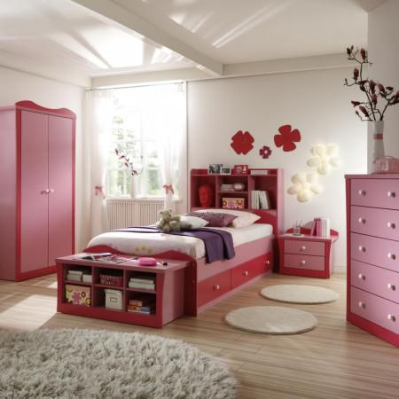 Contemporary Bedrooms For Little Girls