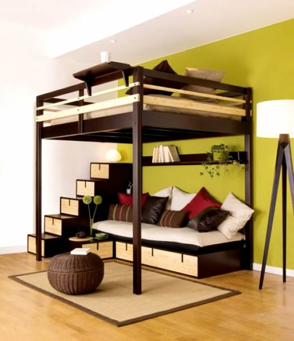 Space Saving For Small Bedroom Picture Small Room Decorating Ideas