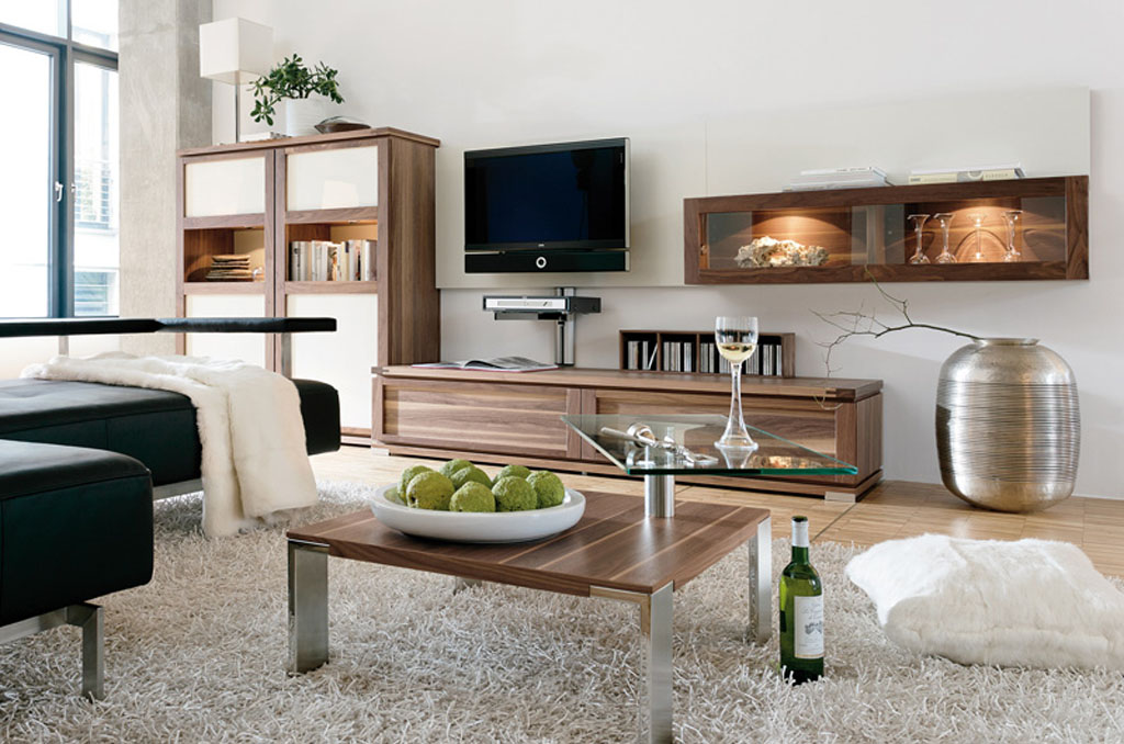 A Small Living Room Can Be Decorated Just As Effectively