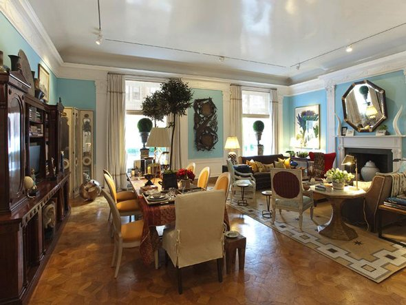 great small living dining room combo ideas image