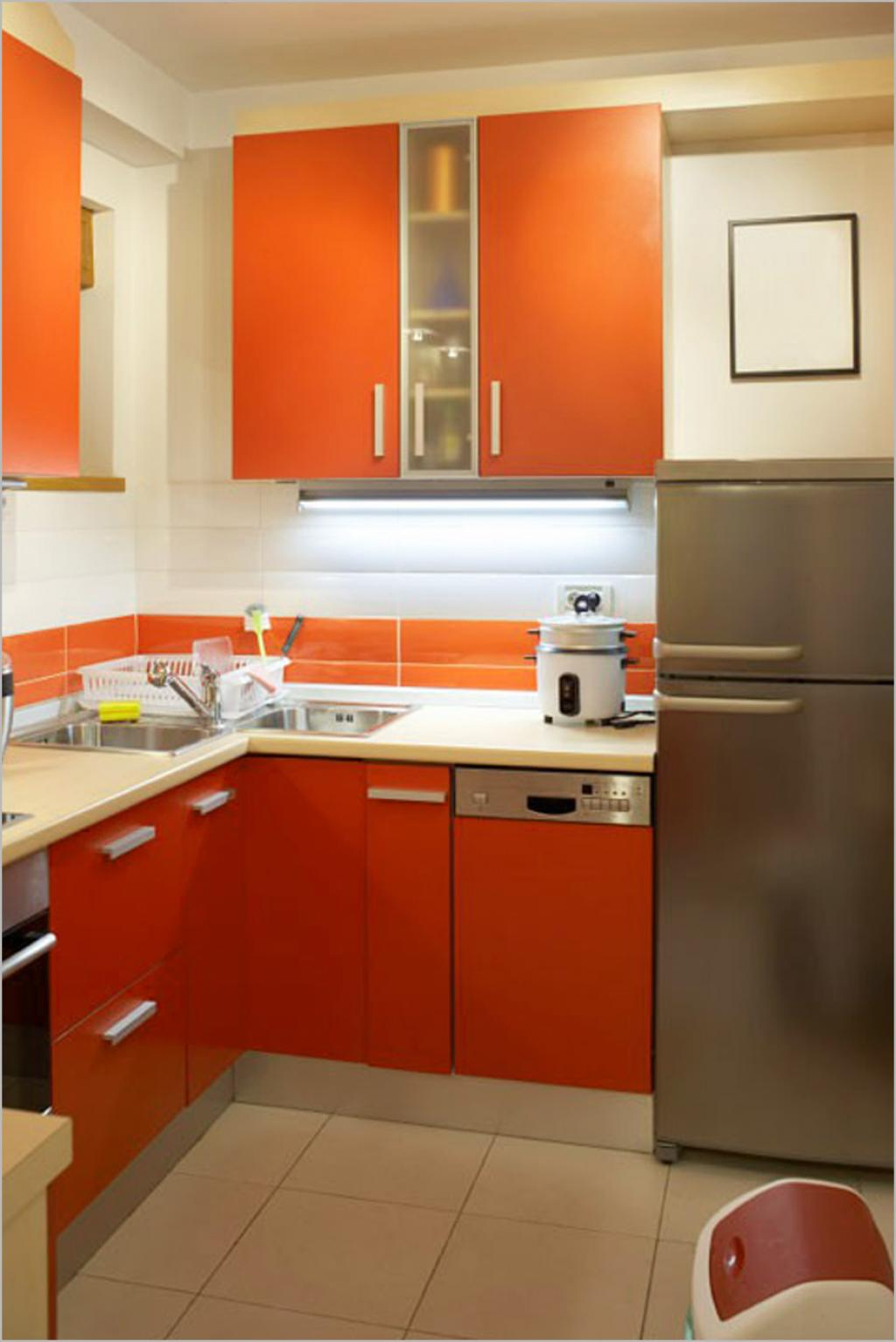 Small Kitchen Design Strategy
