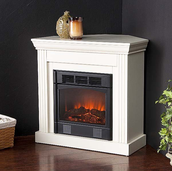 A Corner Electric Fireplace Is Suitable For Small Rooms