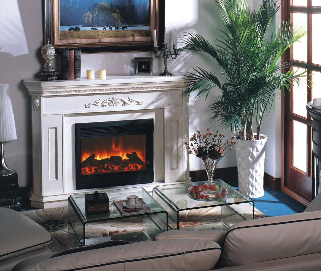 Electric Fireplace For Small Living Room Ideas Pictures 02 Small Room Decorating Ideas