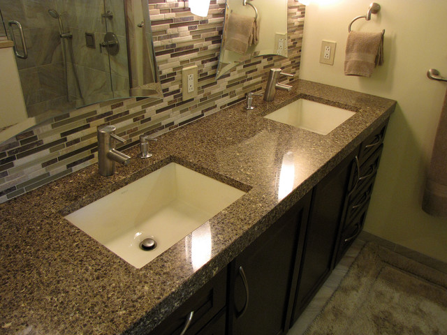Bathroom Countertop Ideas with Sink