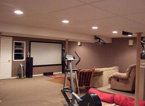 Finished Basement Remodeling Ideas