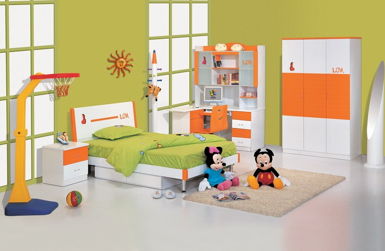 Simple Kids Bedroom Furniture Ideas