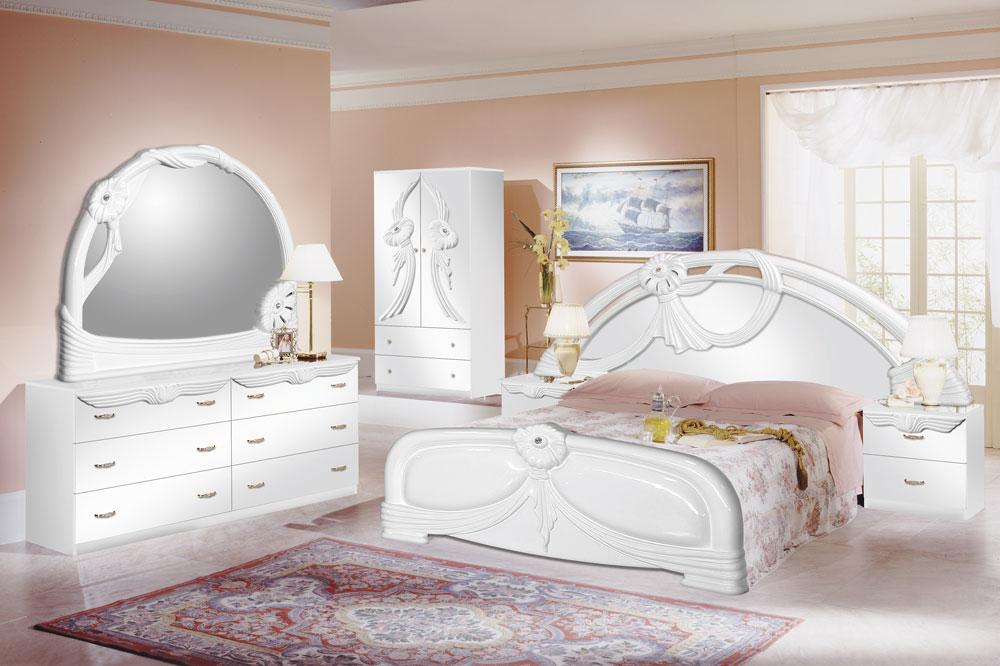 Excellent White Bedroom Furniture Pictures 03 Small Room